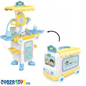 mallette docteur jeux enfant