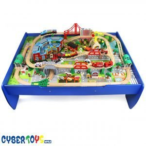 Table de jeu train